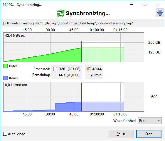 FreeFileSync: Open Source File Synchronization & Backup Software